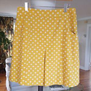 Cute yellow spring skirt
